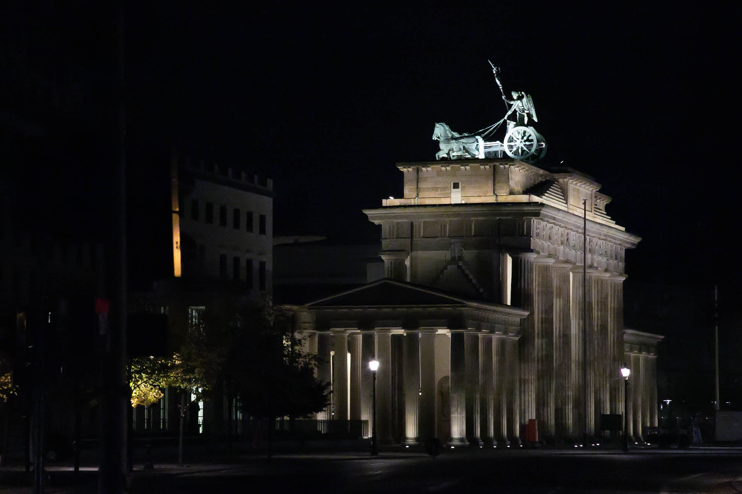 Short night in Berlin