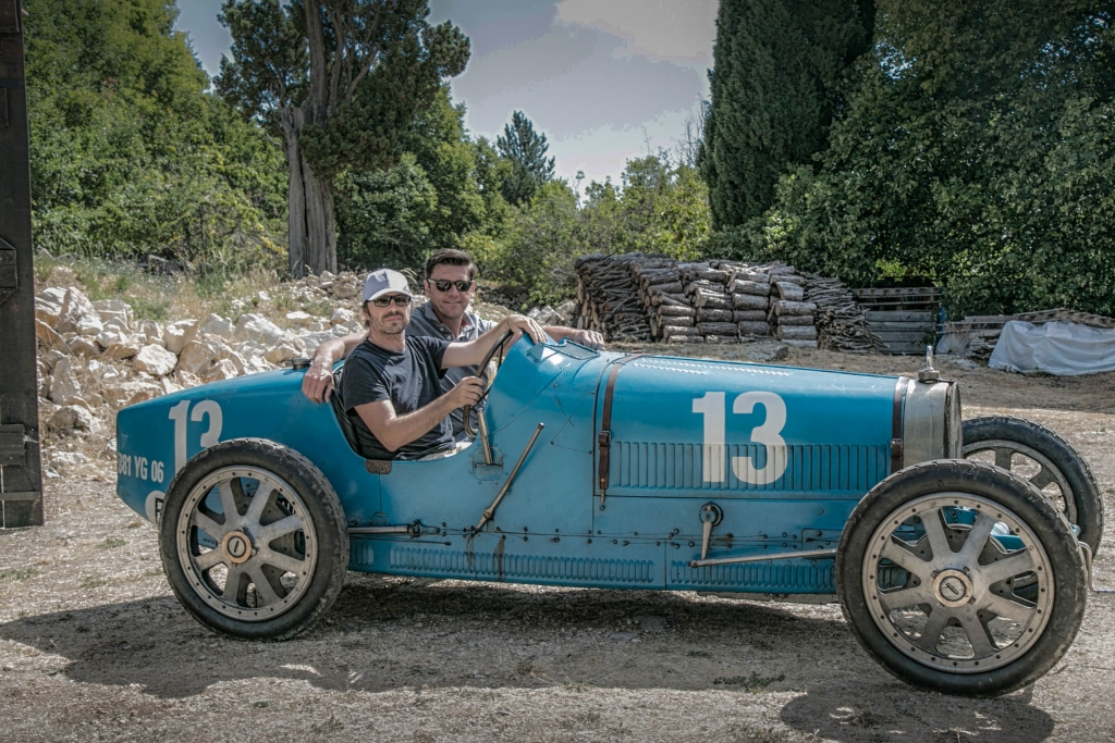 Bugatti 1920 Bleu Maeght France Arnaud Gaertner Photography