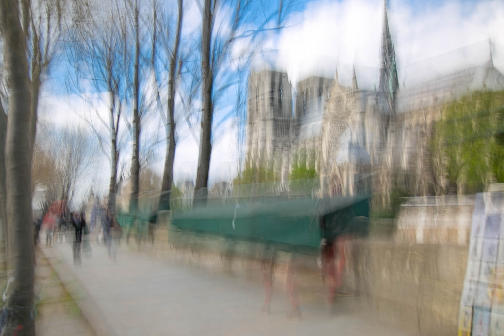 Paris Notre Dame in Motion by Arnaud Gaertner Photography