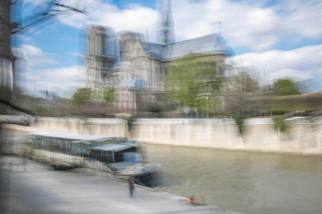 Paris Notre Dame in Motion by Arnaud Gaertner Photography
