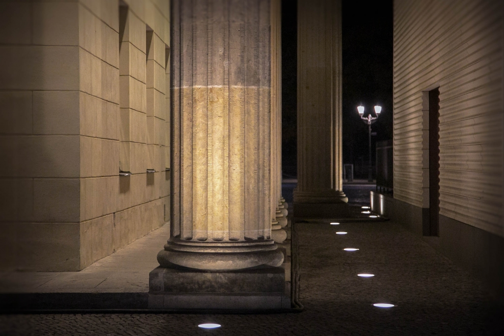 Brandenbourg Gate Berlin Columns by Arnaud Gaertner Photography